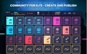 Екран на DJ Mix Pads 2