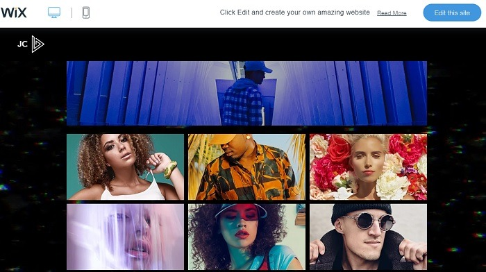 Wix Video Template