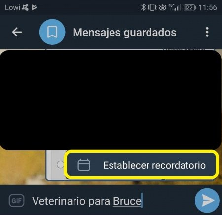 Image - How to schedule messages on Telegram