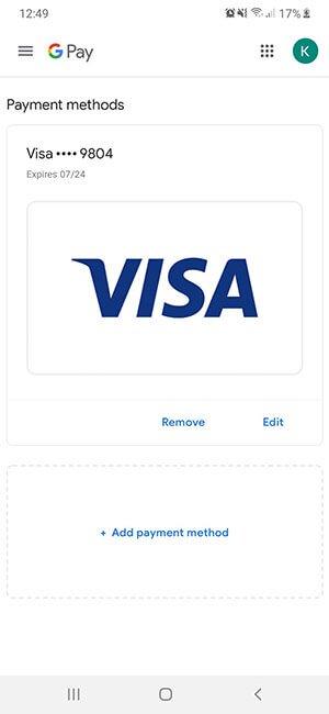 Cómo usar Google Pay - Método de pago