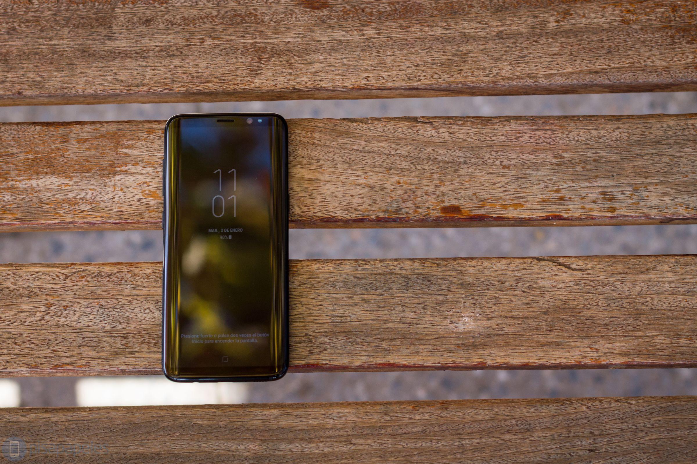 """Opiniones de Samsung Galaxy S8 9""""ancho ="""" 2400 """"altura ="""" 1600"""