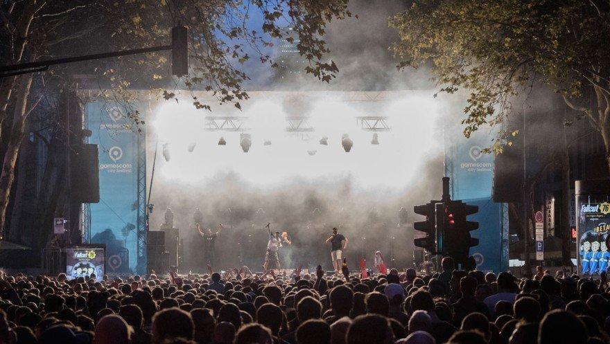 Gamescom City Festival 2019 бендови и редици