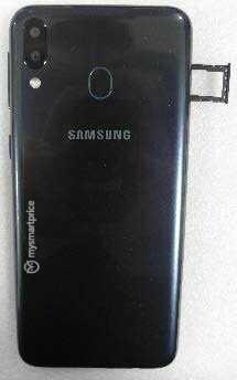 Задниот капак на Samsung Galaxy M20 е филтриран во вистински слики 2
