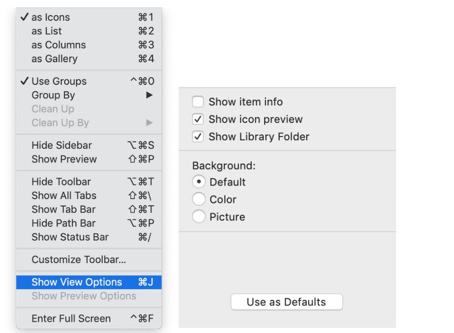 Bagaimana cara mengakses folder System di Mac? 4