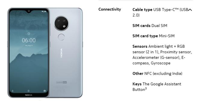 [Update: Just India] Nokia 6.2 dan 7.2 tidak akan memiliki NFC di beberapa pasar - itu berarti tidak ada Google Pay 2