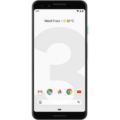 "Google 99928198 - Pixel Smartphone 3, 13.86 cm (5, 46 pulgadas), 2,5 GHz, 64 GB, 12,2 MP, color: blanco transparente ""data-pagespeed-url-hash ="" 1457690225 ""onload ="" pagespeed.CriticalImages.checkImageForCriticality (this);"