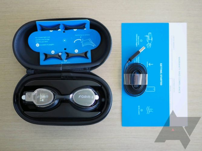 AR goggle shape review: the coolest and most accurate swimming tracker 6