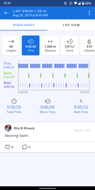AR Goggle Shape Review: The Coolest, Most Accurate Swimming Tracker 11