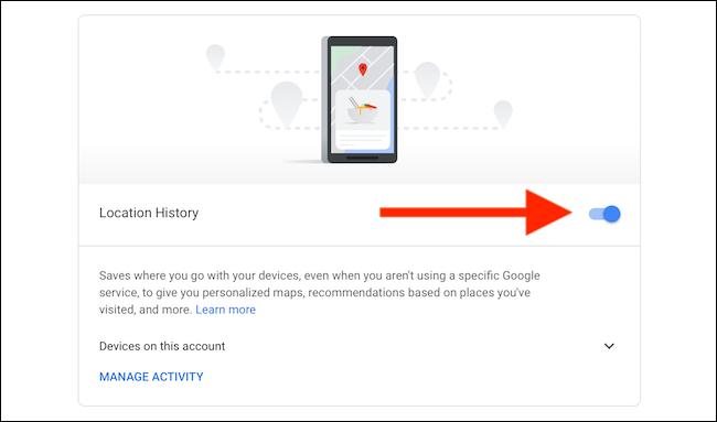 Matikan Riwayat Lokasi untuk Google Maps