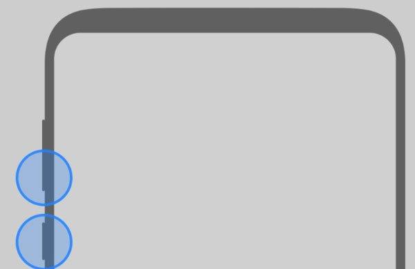 Galaxy Note  cho sự kết hợp nút menu