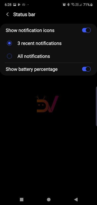 Galaxy Note  Pin 10 phần trăm