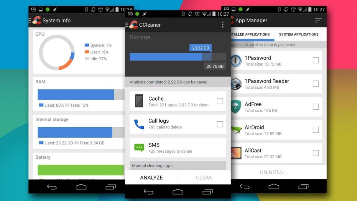 miniatura de Android eliminar ccleaner