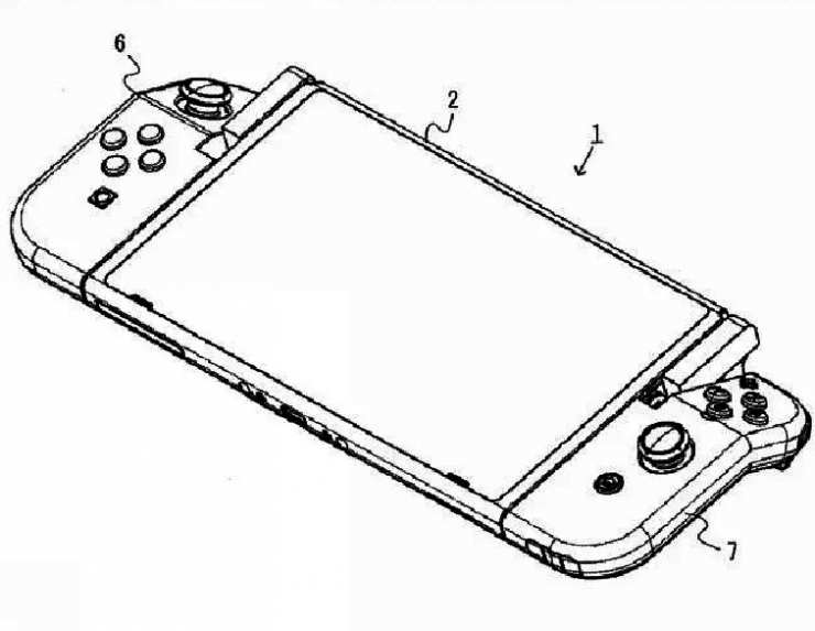 Nintendo kann Faltsteuerungen für herstellen Switch 3