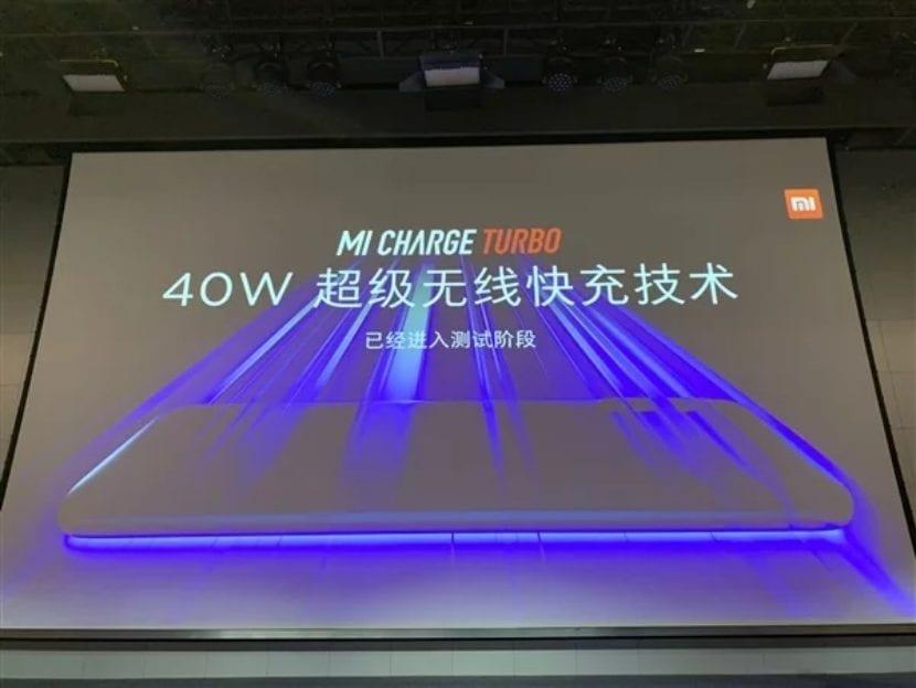 Xiaomi ahora está desarrollando tecnología de carga rápida inalámbrica de 40 vatios 1