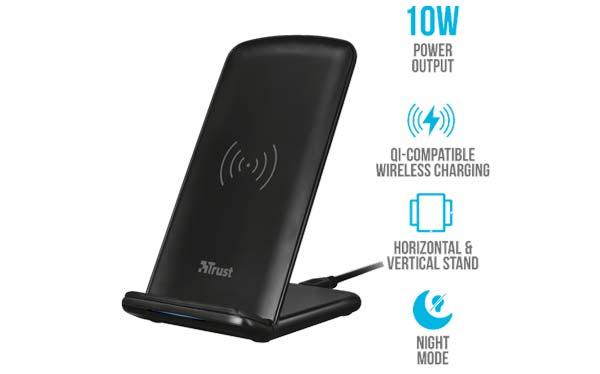 Primo 10 güvenilir kablosuz şarj cihazı, video izlerken cep telefonunuzu şarj edin 3