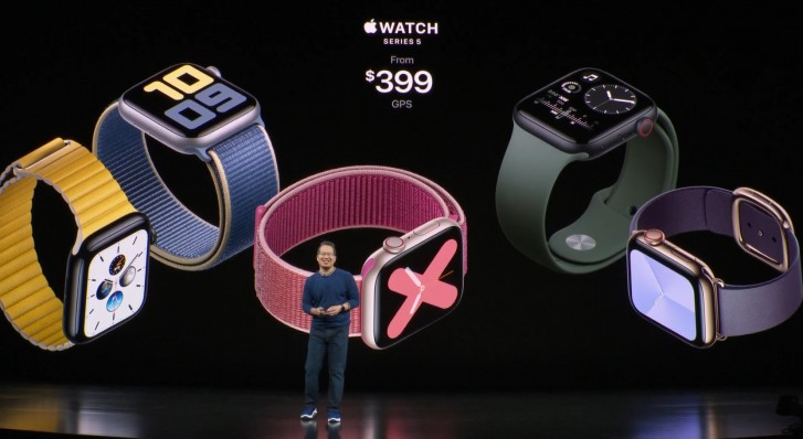 - ▷ Apple Watch The official series 5, now with Always Active and compass »- 2