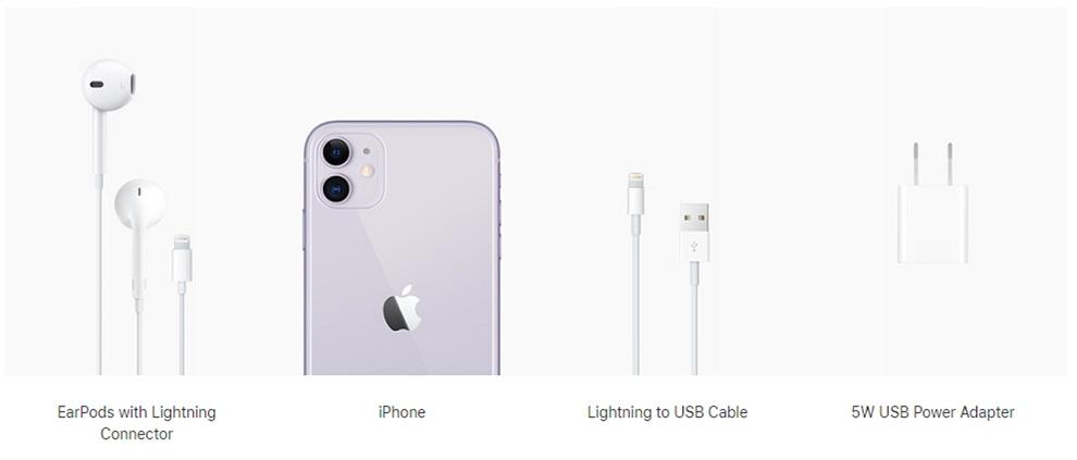 IPhone 11 todavía incluye el mismo cargador de 5W del año pasado 1