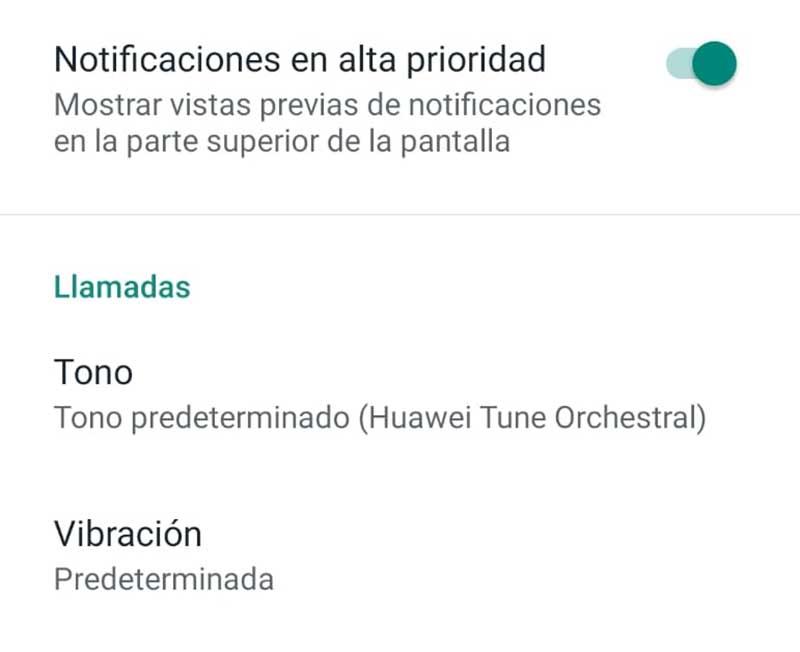 WhatsApp zəng bildirişlərini deaktiv edin