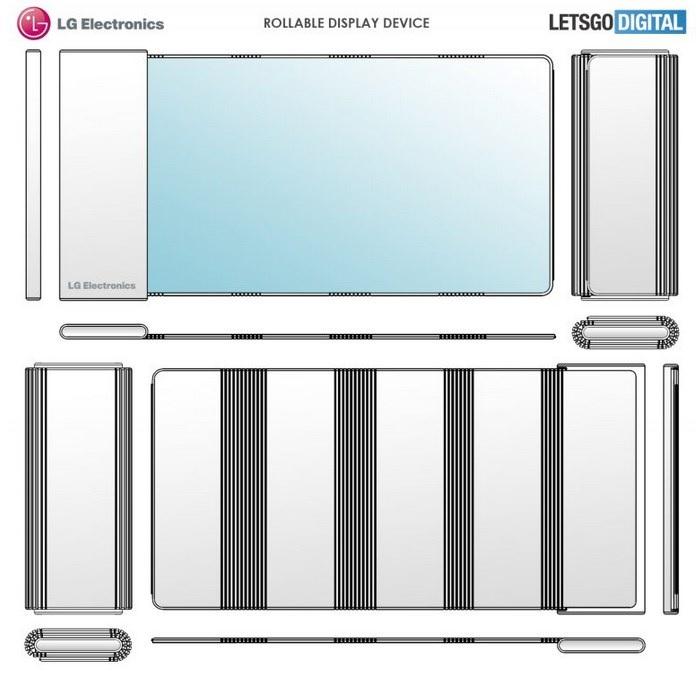 LG патентира нов паметен телефон со тркалачки екран 1