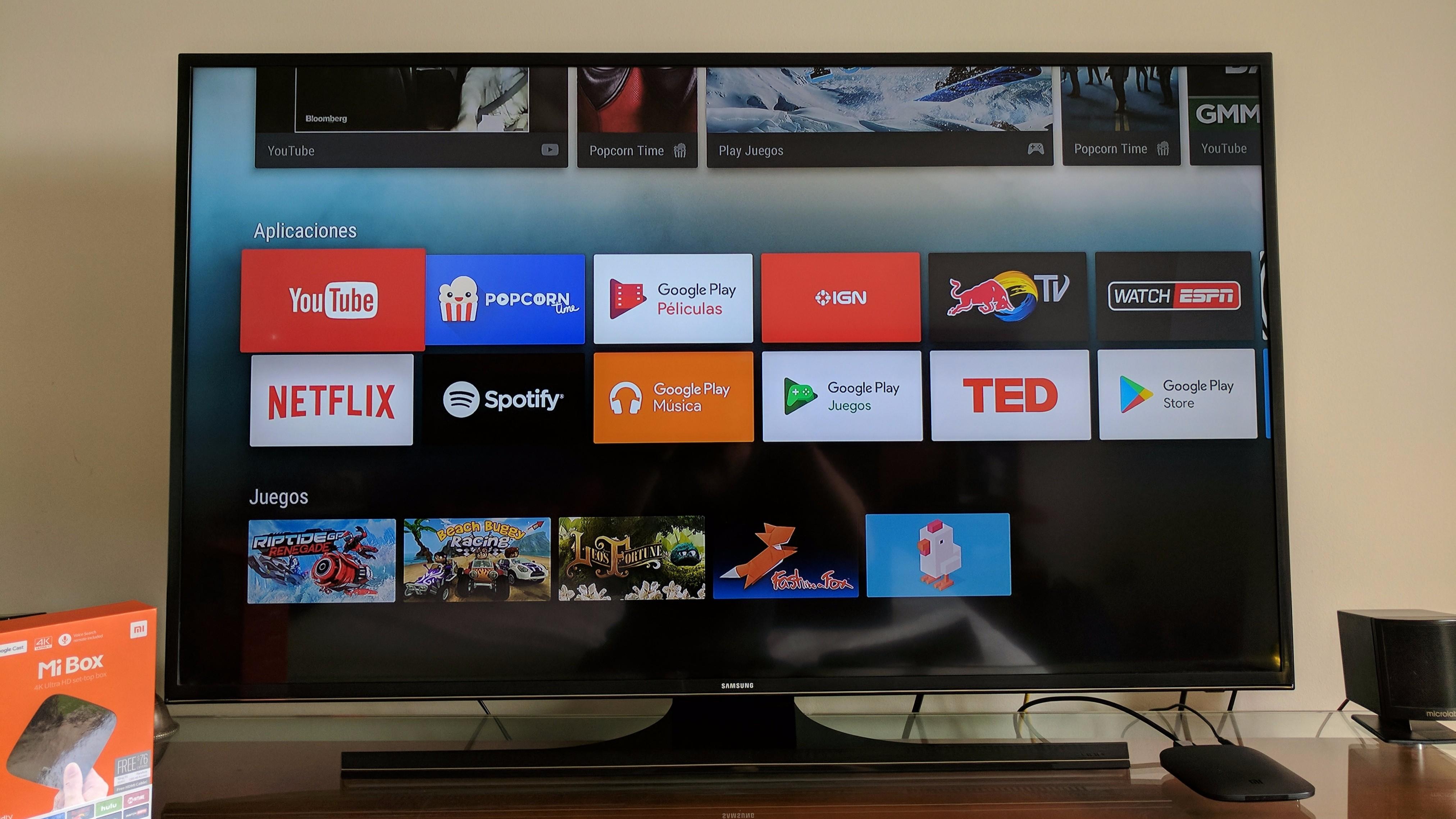 """Revise Xiaomi Mi Box con Android TV 8""""ancho ="""" 4048 """"altura ="""" 2277"""