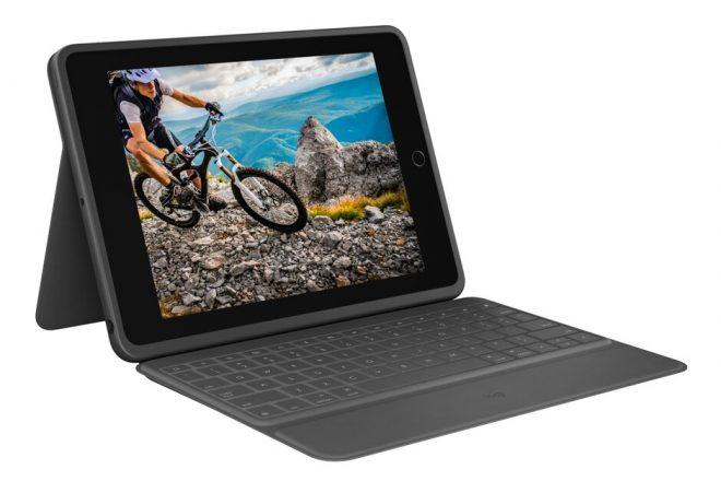 Logitech Debut Slim Folio dan Keyboard Folio Rugged untuk iPad 10.2 2