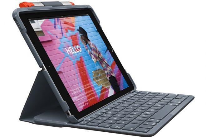 Logitech Debut Slim Folio dan Keyboard Folio Rugged untuk iPad 10.2 3