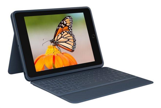 Logitech Debut Slim Folio dan Keyboard Folio Rugged untuk iPad 10.2 4