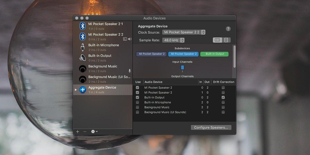 Cómo emitir audio a varios dispositivos en macOS 2