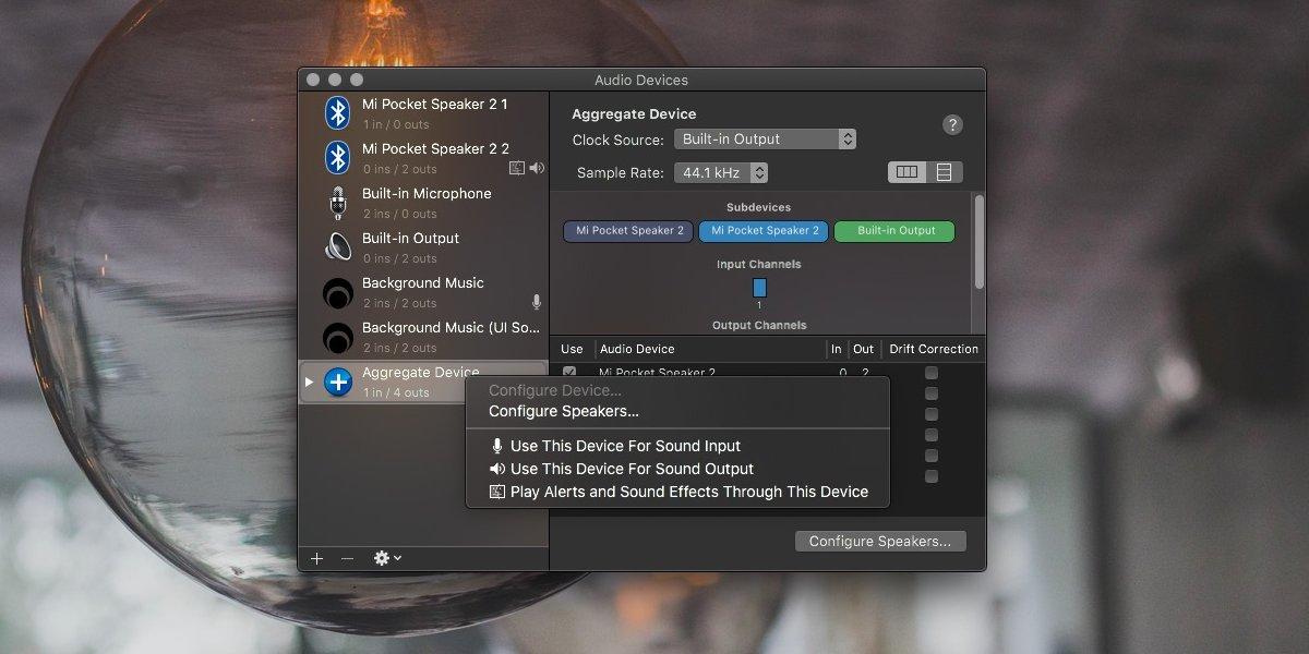 Cómo emitir audio a varios dispositivos en macOS 3