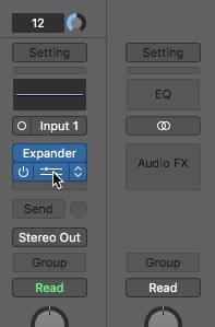 Logic Pro X noise removal equalizer