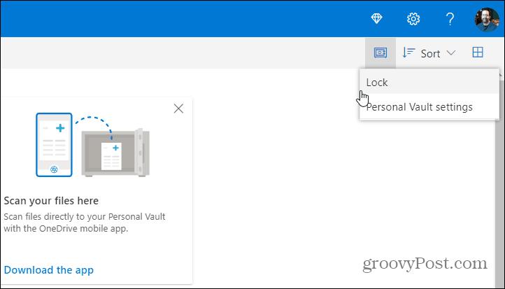 Şəxsi Vault ilə 2FA ilə OneDrive-dakı faylları necə qorumaq olar 2