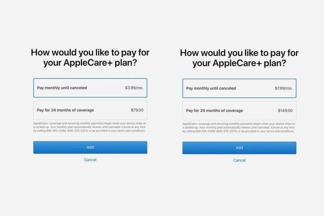 Apple sekarang menawarkan asuransi AppleCare + sebagai langganan bulanan 1