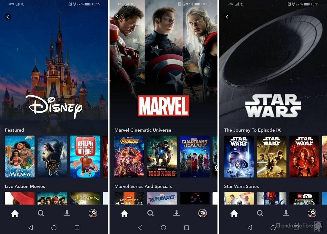 Disney + -i Android-də sınaqdan keçirdik: bu Disney axın xidmətidir 5