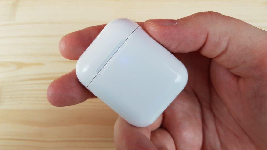 Headphone i9s TWS: suara dan gaya suara Apple 6