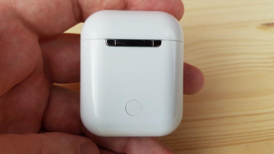 Headphone i9s TWS: suara dan gaya suara Apple 10