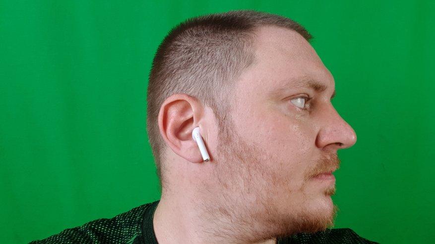 Headphone i9s TWS: suara dan gaya suara Apple 12