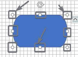 el diagrama de flujo modifica la forma y el tamaño
