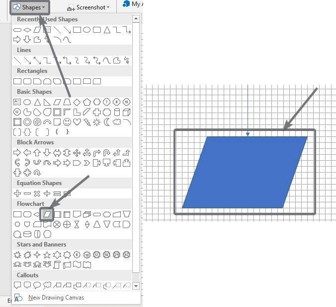 Crear diagramas de flujo en Microsoft Word y PowerPoint 80 90