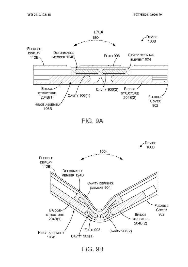 Microsoft patent büyük bir sorunu çözecek Galaxy Fold        ve başka bir kat 2