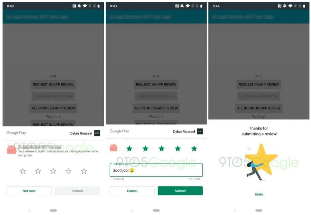 Google Play cambió su calificación: ya no es necesario salir de la aplicación 2