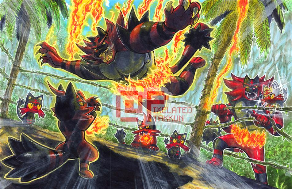 Pokemon Sun dan Moon Fan Seni Terbaik di Internet 10