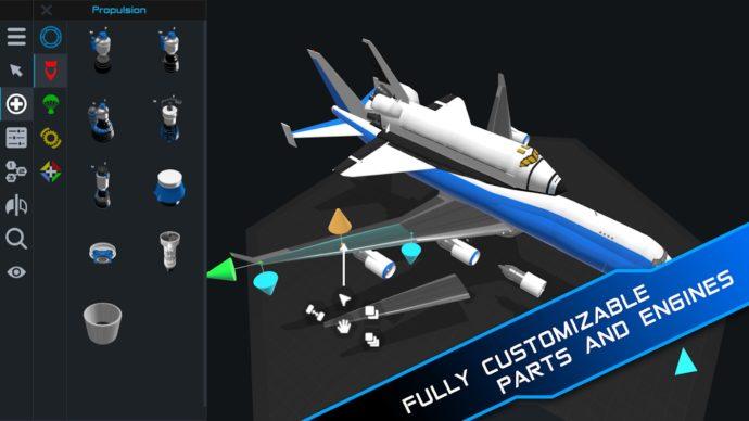 Construye tus propios cohetes en SimpleRockets 2, Lanzado en dispositivos móviles la próxima semana 1