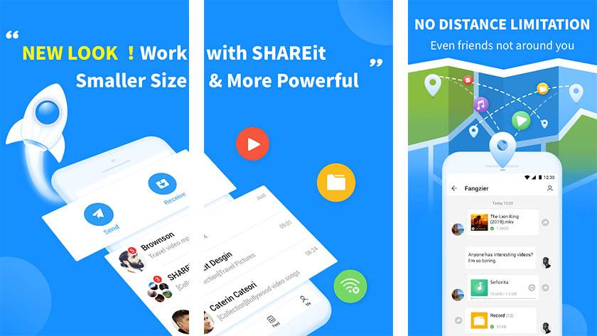 SHAREit Lite - одно из лучших новых приложений для Android