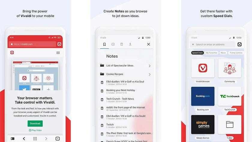 Vivaldi Browser Beta - одно из лучших новых приложений для Android