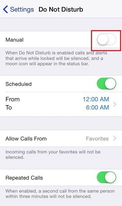 Chặn số chưa biết trên iPhone