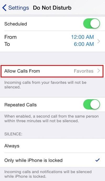 Cách chặn số trên iPhone