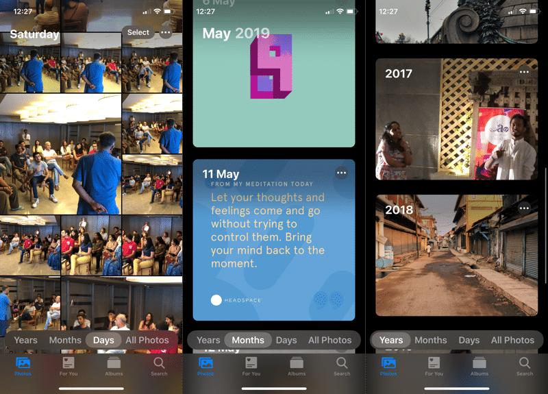 Ứng dụng mới Xem ảnh iOS 13