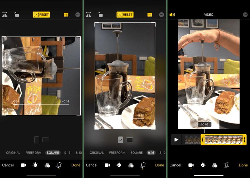 Trình chỉnh sửa video iOS 13
