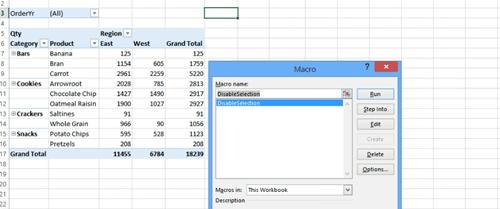 Cómo eliminar las flechas desplegables en Excel 2