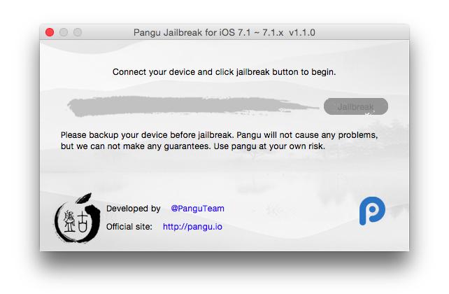 Cómo hacer un jailbreak para iOS 7.1.2 con Pangu para iPhone y iPad 3